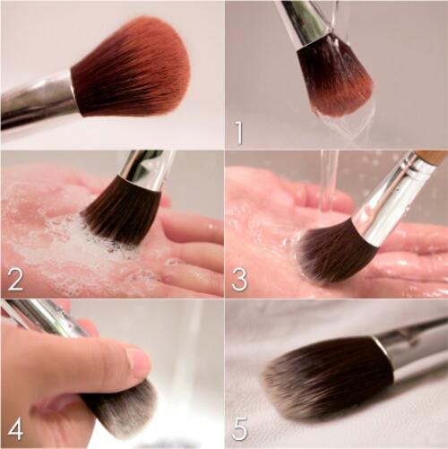 Hur man tvättar sina sminkborstar på rätt sätt! » 11Junis ba553a5dd5b49