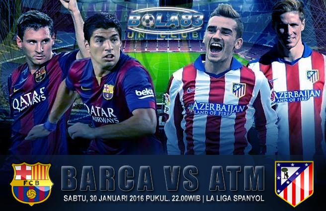 Liga Spanyol Atm Vs Barca