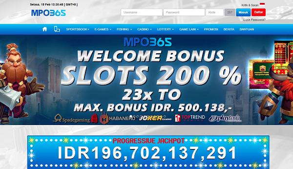 MPO365 Situs Taruhan Slot Game Mobile Terlengkap