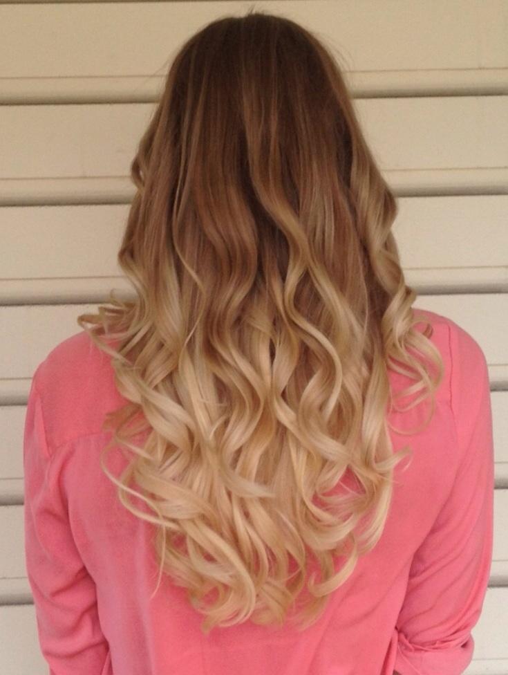 ombre hår