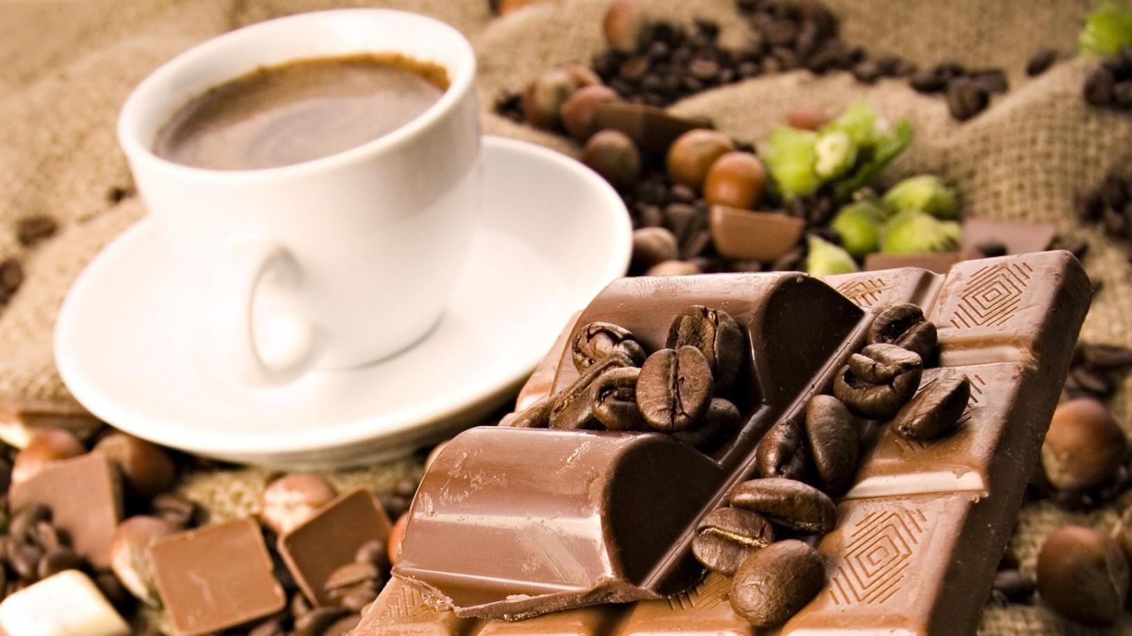 kaffe och choklad
