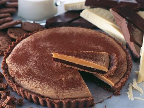 kola choklad paj