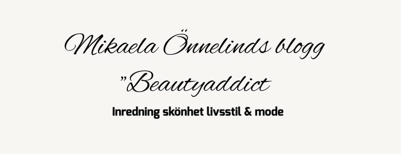 Mikaela Önnelind skönhet och modeblogg.