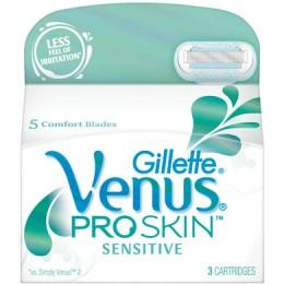gillette pro skin sensitive scheermesjes 4 st