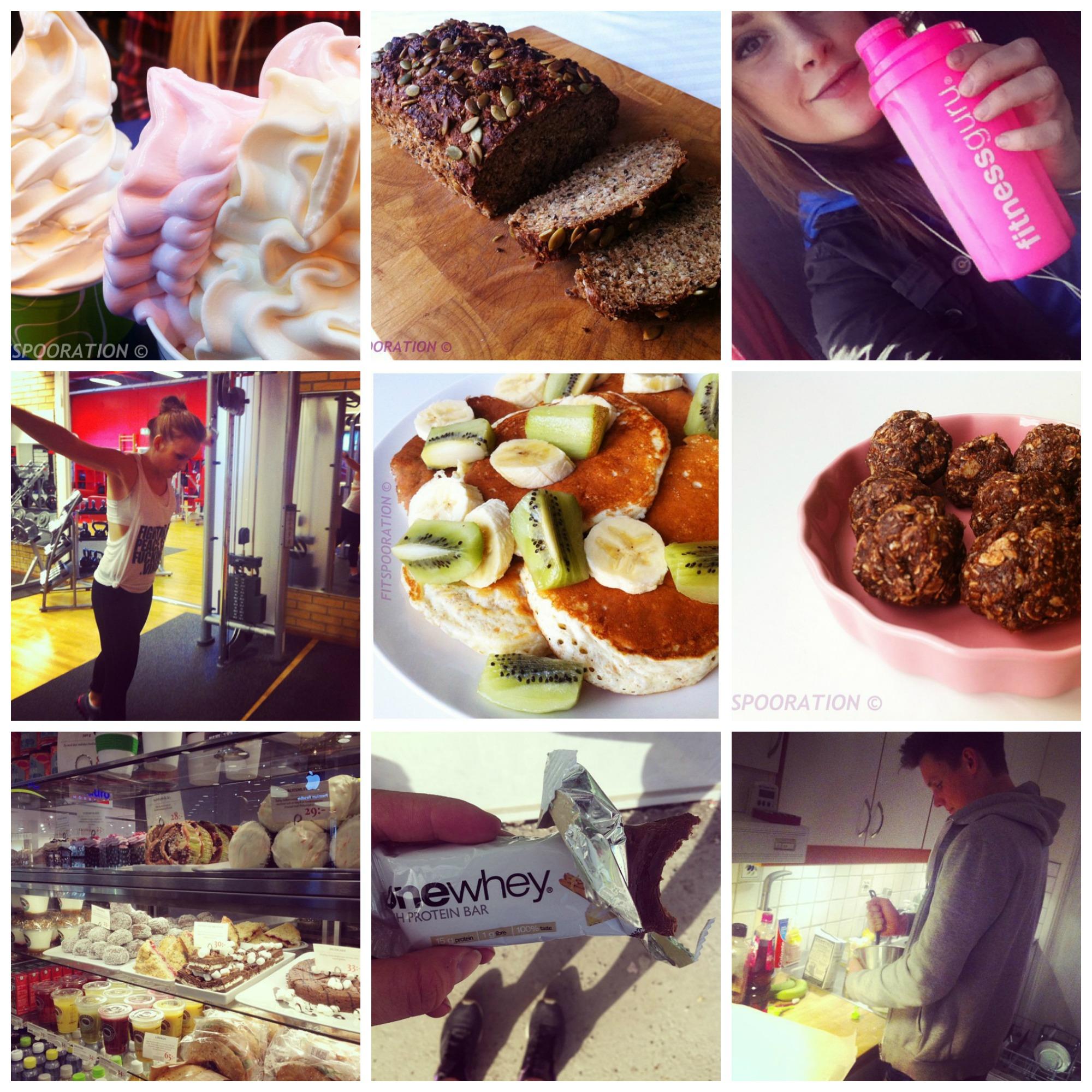 Instagram week fitspooration for My showroom instagram