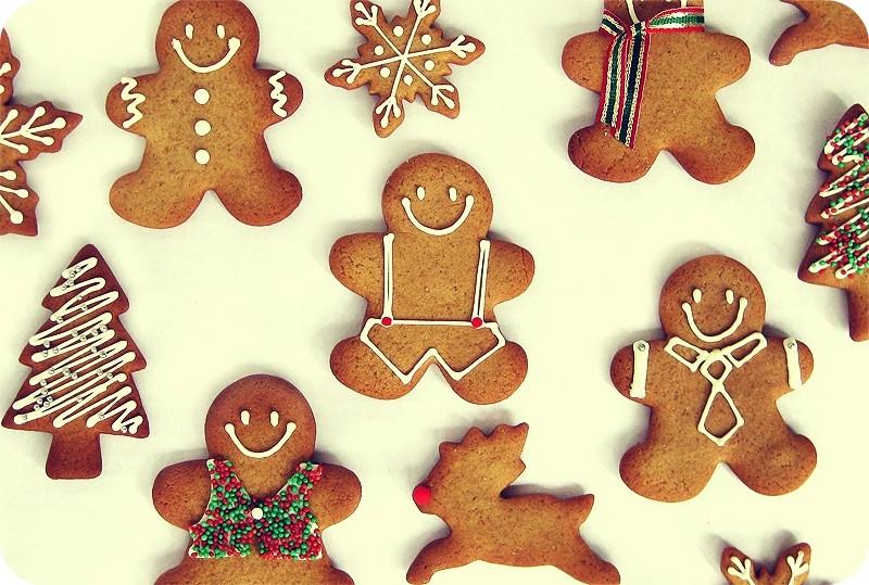 Новогоднее печенье рецепты с фото человечки