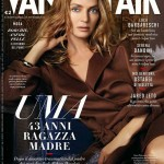 Uma Thurman för Vanity Fair Italien