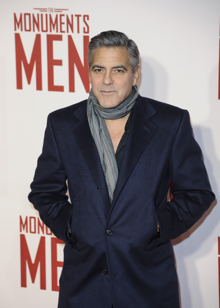 The Monuments Men UK Premiere