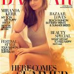 Miranda Kerr för Harpers Bazaar UK
