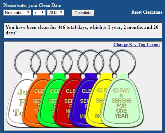 clean time tags