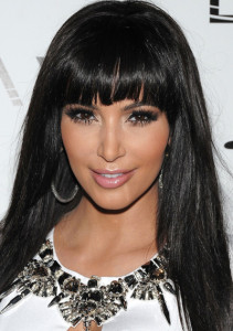 Kim Kardashian Rings in the 2012 New Year at TAO