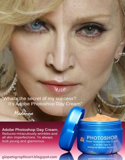 Även retuscherade bilder vilseleder konsumenterna så att de tror att produkten ger perfekt hy.