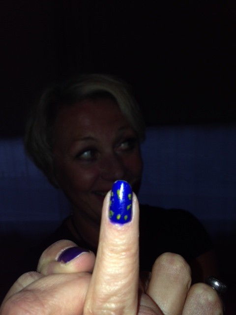 Vi målade EU naglar och var superengagerade för att färga in viktigheten av valet.
