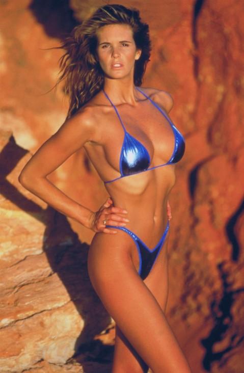 Elle Elle Macpherson som ung och med en fantastisk kropp.
