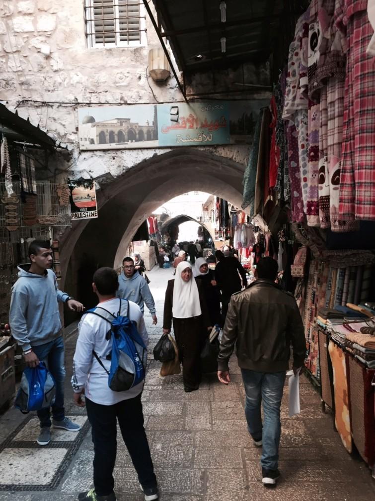 Västra muren i Jerusalem.