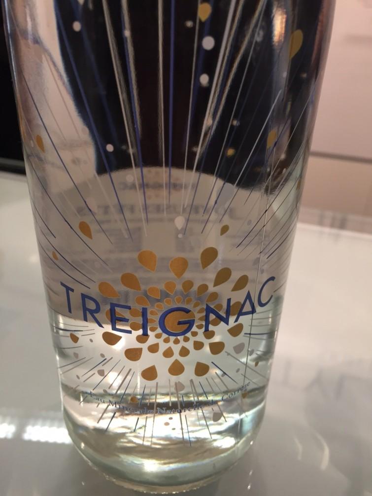 Källvattnet Treignac finns i Stylages nya hudvådrsserie och man kan även få smaka på vattnet i deras bås.