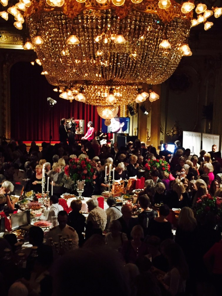 Över 750 personer hade kommit från hela Sverige för att fira.
