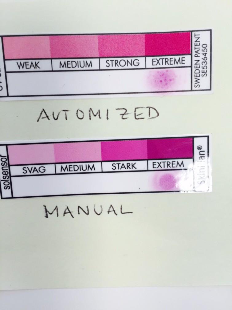 Här är två varianter och det är den manuellt tillverkade kvalitén jag måste ha.