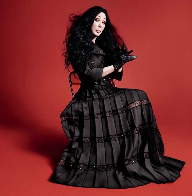 Cher blev avslöjad som nya modellen hos Marc Jacobs.