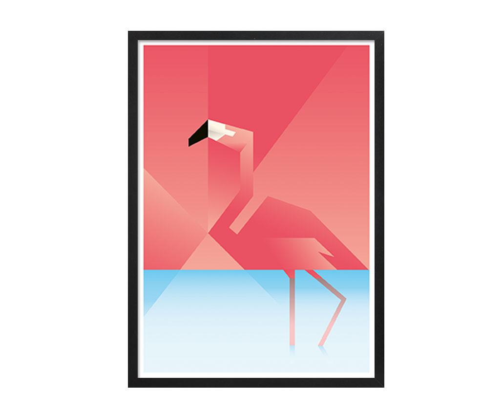 Plakater_Martin_Schwartz_Flamingo