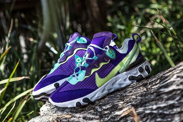 Bespokeind Bouw aangepaste versie van Nike React Element 87