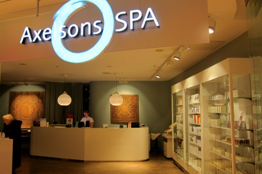axelson spa gallerian