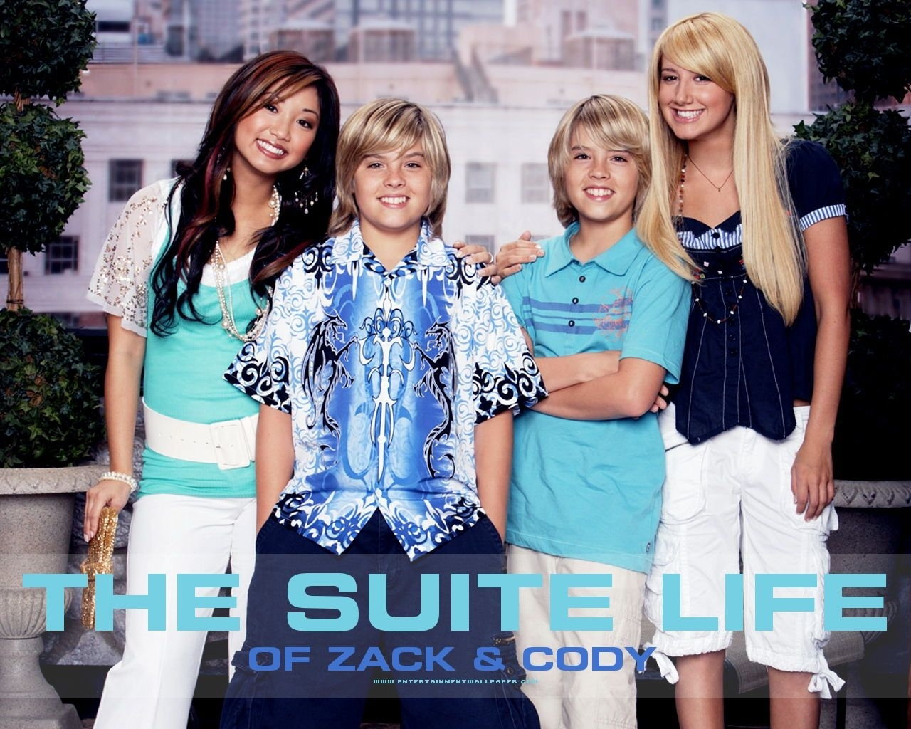 Watching the suite life of Zack and Cody