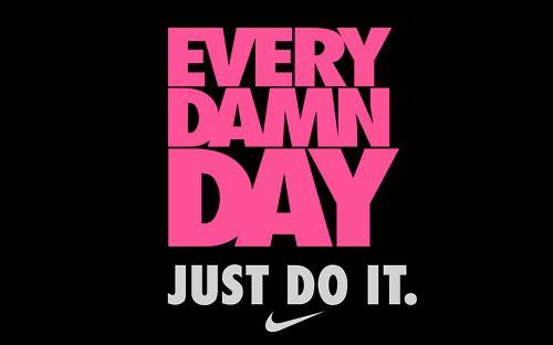 Just Do It » Med ett leende på läpparna