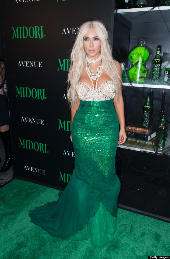 2nd Annual Midori Green Halloween PartyKim Kardashian Halloween Costume 2013