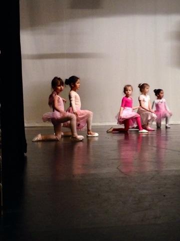 Nicoles första Balett Uppvissning